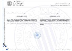 Certificado cype 300 213 - Delineante valencia ...