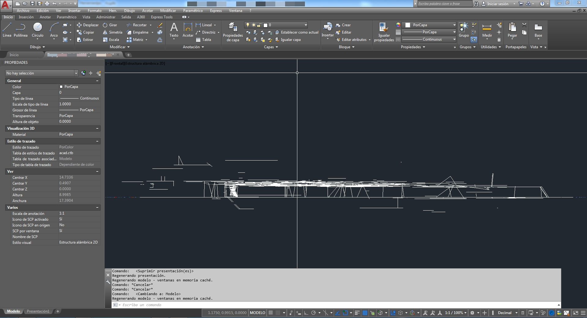 Plano topografico AutoCAD diferentes cotas