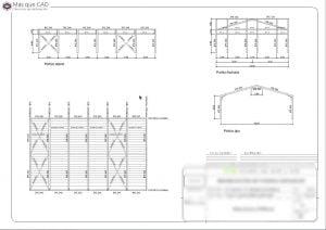 Planos para licencia ambiental fabrica de marmol
